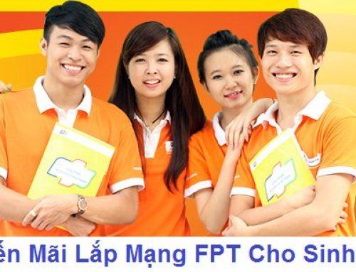 Lắp mạng internet FPT giá rẻ cho sinh viên Hà Nội
