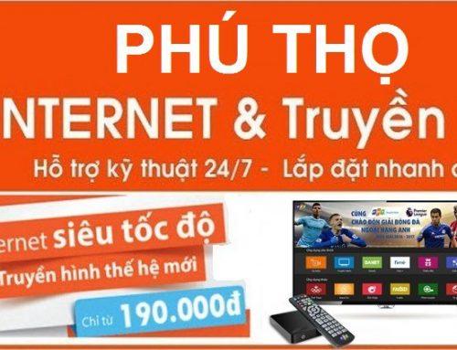 Lắp mạng cáp quang FPT tại Việt Trì , Phú Thọ