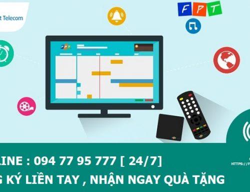 Lắp mạng internet và truyền hình cáp FPT tại Long An