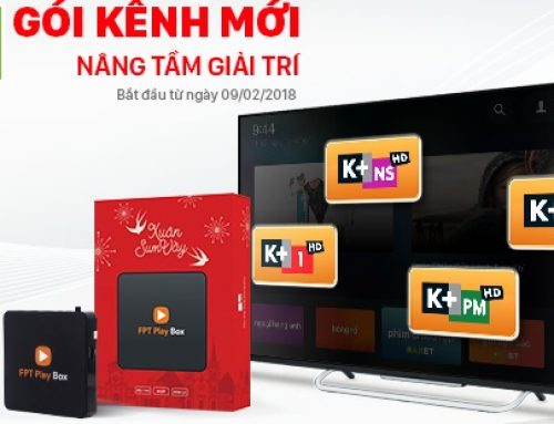 Gói kênh K+ truyền hình FPT Play Box