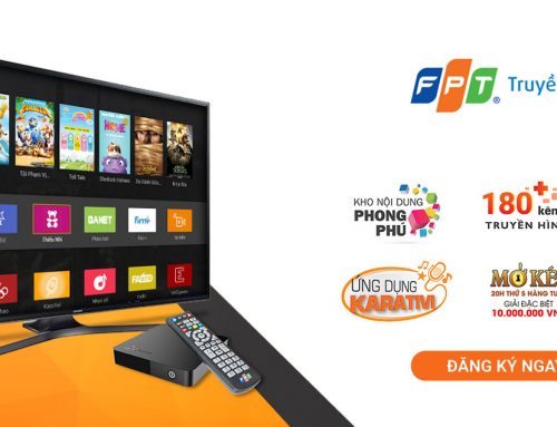 Đầu thu truyền hình internet FPT
