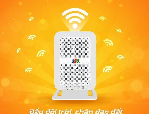 Thiết bị đầu cuối [Modem Wifi] áp dụng trên gói dịch vụ internet gia đình của FPT
