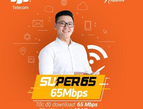 Gói cước internet cáp quang Super 65