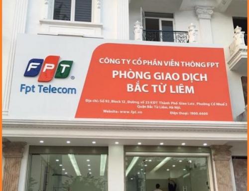 Hà Nội , Q.Bắc Từ Liêm : Lắp mạng cáp quang & truyền hình FPT