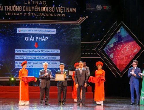 3 sản phẩm của FPT IS giành giải Chuyển đổi số Việt Nam