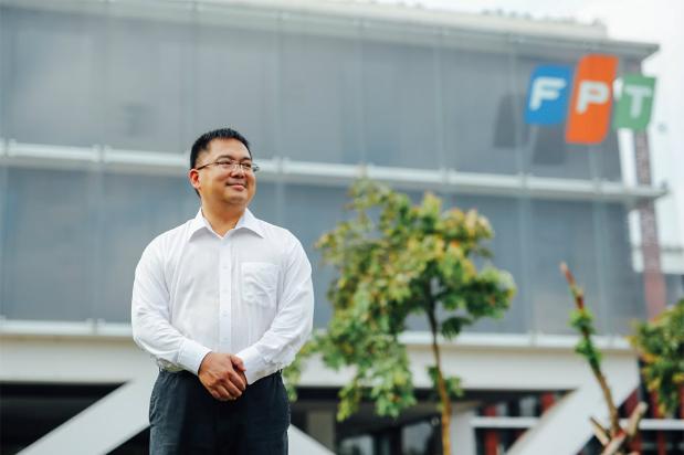 Tân Chủ tịch FPT Telecom Hoàng Nam Tiến.Ảnh tư liệu.