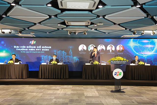 Chủ tịch Trương Gia Bình cho biết vẫn tiến hành cuộc họp đúng thời hạn dù cả nước đang thực hiện giãn cách toàn xã hội nhằm đảm bảo đúng lộ trình trả cổ tức cho cổ đông.