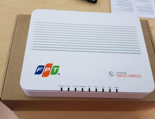Modem Wifi Gpon AC1000F thế hệ mới dành cho khách hàng FPT Telecom