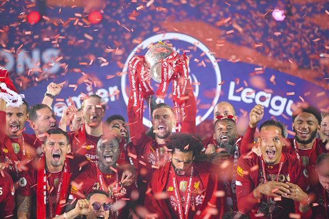 Liverpool đang là đương kim vô địch giải Ngoại hạng Anh.