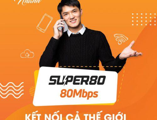 Gói cước internet S80 FPT