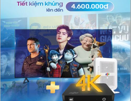 Đăng ký internet , truyền hình FPT để hưởng ưu đãi tivi Smart TV SamSung