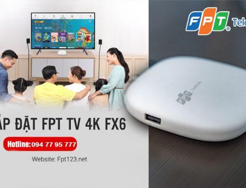 Bộ giải mã truyền hình 4K thế hệ thứ 4 – FPT TV 4K FX6