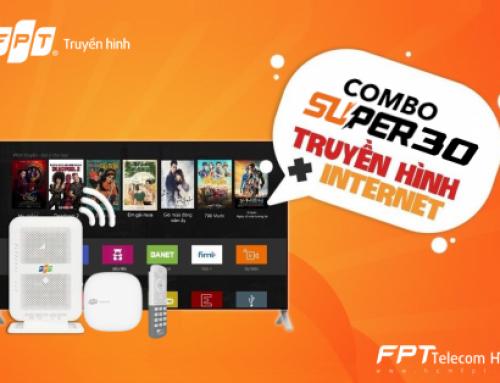 Combo internet và truyền hình Super 30Mbps