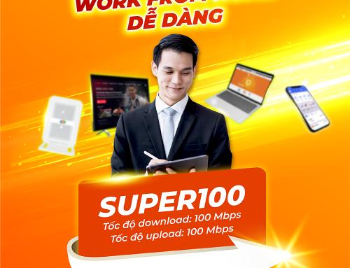 Gói cước internet cáp quang Super 100