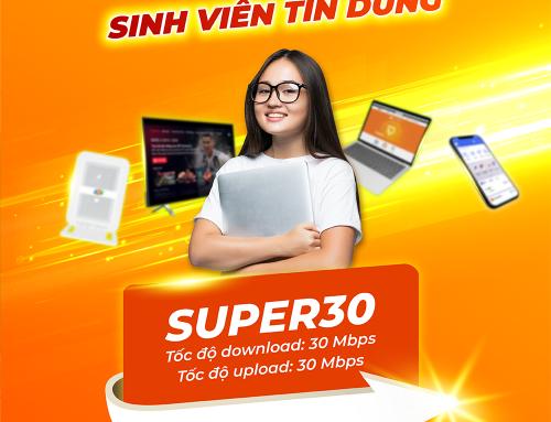 Gói cước internet cáp quang Super 30