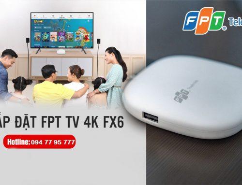 Khuyến mại lắp đặt internet cáp quang và truyền hình FPT Telecom tháng 6 2021